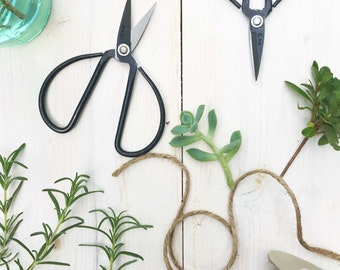 Bonsai Scissors, Black Scissors, Farmhouse Garden Scissors, Herbs Scissors, Floral Scissors, Chinese Scissors, Craft Scissors, Carbon Steel