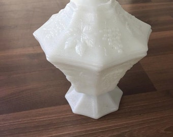 Milk Glass Candy Dish - White Candy Dish - Vintage Candy Dish - Candy Dish - Milk Glass