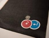 "8"" x 10.5"" Eye Mesh - Paintable Black Waterproof Plastic Vinyl Mesh Canvas - Fursuit Eye Mesh , mascots, plastic buckram , screen"