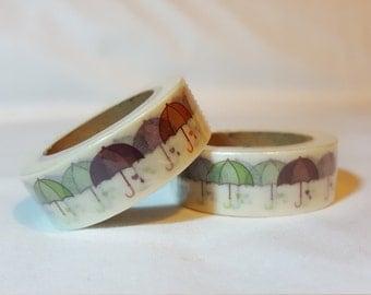 Washi Tape/ Craft Tape-Umbrellas