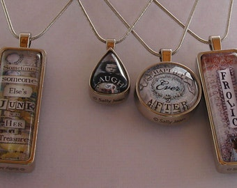 Inspired Quotes Necklaces