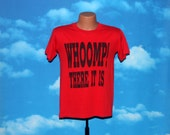 Whoomp There It Is Red Tshirt Vintage 1993
