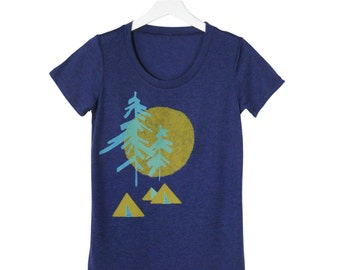 Backcountry Tri Blend Camping Tee