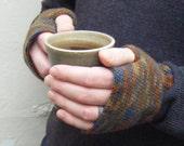 Crochet Pattern for Fingerless Gloves for Men PDF