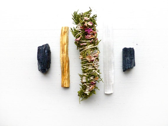 Protection Intention Smudge Kit Cedar By Broadstreet