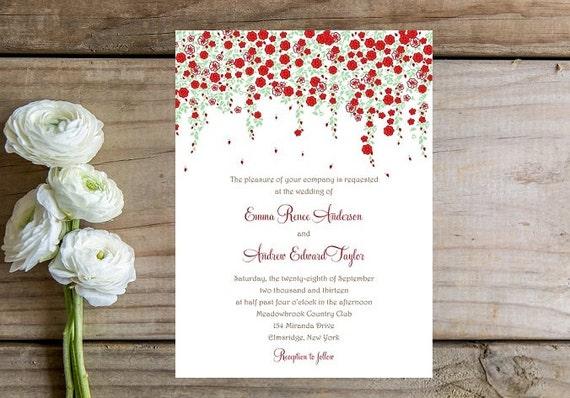 Summer Wedding Invitations: Wedding Invitation Sample Charming Spring Or Summer Wedding