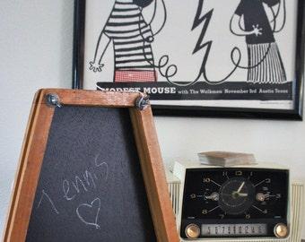 Vintage Wood Tennis Racket Cover Chalk Board- Assorted