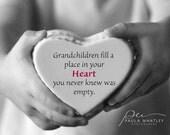 grandma gift, Typography print, motivational print, black white art. grandmother art, present grandma, mom present, mom gift, grandmother