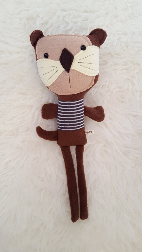 Edmund the Otter, softie doll plush toy