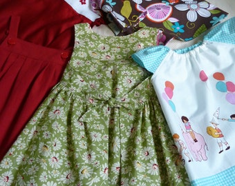 Girls Size 2 and 3 Toddler Clothing Set Ready to Ship Immediately