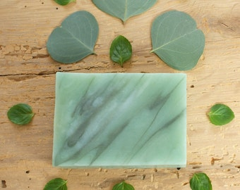 Eucalyptus Mint Soap | Herbal Soap, Natural Soap, Essential Oil Soap, Cold Process Soap, Gift Idea For Friends Women Men