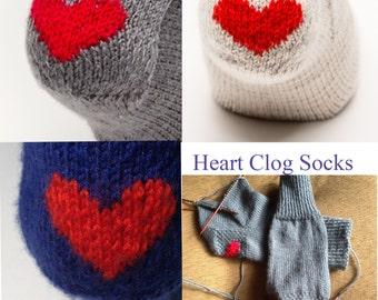 Custom ONLY Heart Clog Socks