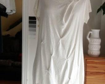 Hemp dress - women's clothing - Organic Dress - natural   M/L - JTrove