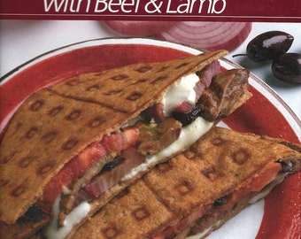 Vintage Cookbook Fresh Ways with Beef and Lamb - Time Life Healthy Home Cooking