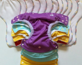 The One Fit  by Maui Diaper: One Size, All In Two  Organic Cloth Diaper