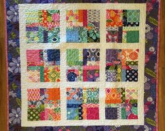 Handmade Baby Girl Patchwork Quilt