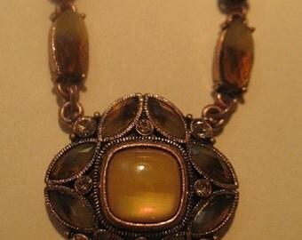 Beautiful Crystal Pendant Necklace