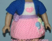 18 inch American Girl Crochet Pattern - Pinky