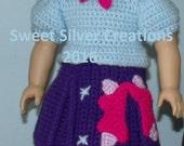 18 inch American Girl Crochet Pattern - Twilight