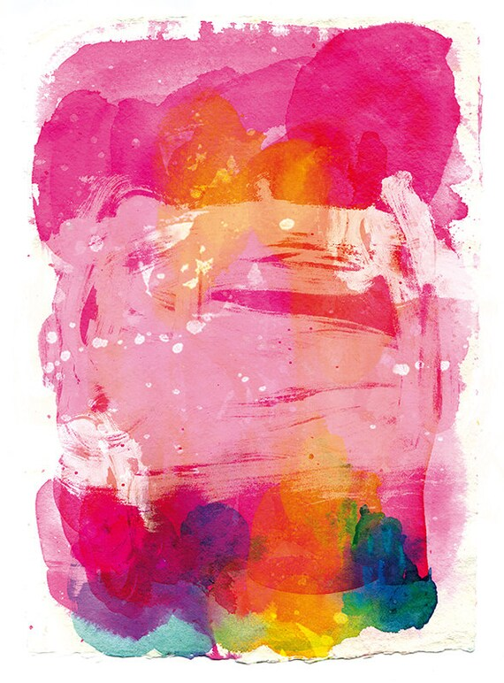 SALE-Pink Sky Archival Art Print