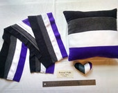 Asexual Pride Scarves, Pillows, and Mini Hearts
