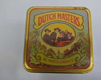 Dutch Masters - vintage cigar tin