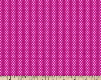 Hot Pink Swiss Dot Cotton Fabrics - Pin Dots Fabric By The Yard - Quilting