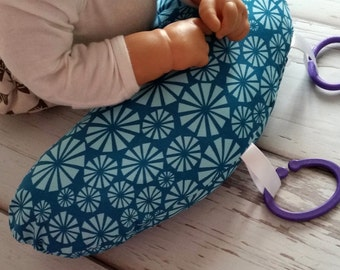 Organic Tummy Time Pillow, Sea Urchins