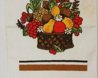 Vintage Dish Towel, Fruit Dish Towel, Fruit Theme, Retro Dish Towel, Hand Towel, Retro Hand Towel, Vintage Hand Towel, Towel, Kitsch