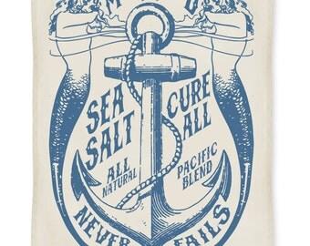 Mermaid Sea Salt Kitchen Towel