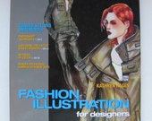 Fashion Illustration for Designers, Hagen, Fashion Drawing Book, How to Illustrate Mens and Womens Fashion,