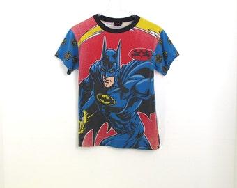 Vintage 90s Batman All Over Print T-Shirt