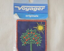 Vintage ORLANDO FLORIDA embroidered fabric patch Voyager Original NEW in package