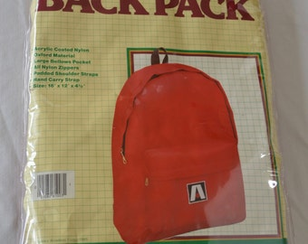 Vintage Teardrop BACKPACK by Academy Broadway dated 1985 NEW in package