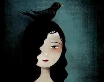 Blackbird - open edition print