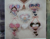 Hickory Stick & Co. Peek-a-boo Pocket Babies Pattern 1992 H-170 - Hearts