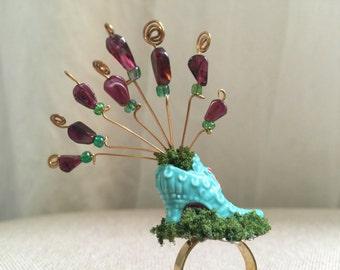 Secret Garden Shoe Ring