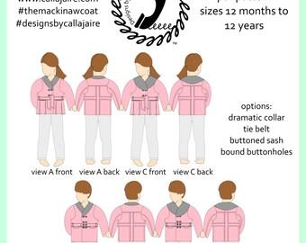 The Mackinaw Coat PDF Pattern