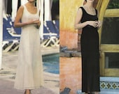Anne Klein Maxi Dress! Vintage ©1994 Vogue American Designer Anne Klein Collection Sewing Pattern 1376, Misses' Dress, Sizes 12-14-16