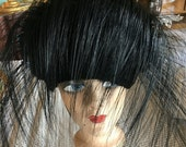 RESERVED GWEN Vintage 50s Jack McConnell Hat w/Signature Red Feather