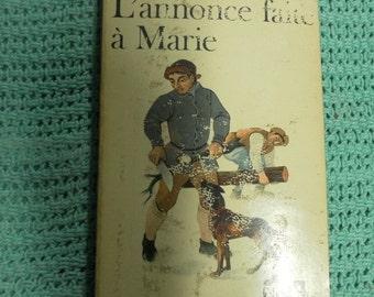 L'annonce faite a Marie Paul Claudel vintage French paperback 1940