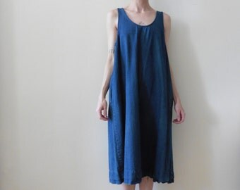 Denim Tent Dress