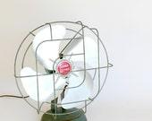 Vintage SuperLectric Fan Oscillating Mid Century