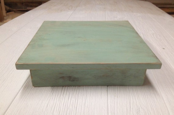 rectangle wedding cake stand items similar to wedding cake stand mint green square cake 19060
