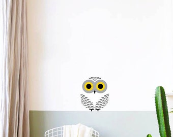 Snowy Owl Wall Decal