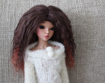 Double colour mohair wig for Minifee / MSD