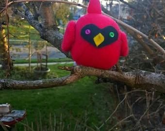 Small Red Cardinal Bird Plush