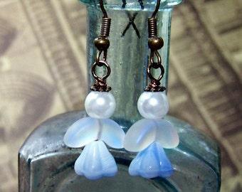Religious Earrings Christian Earrings Angel Earrings Sweet Little Blue Angels Jewelry Christmas Jewelry Boho Earrings Bohemian Angel