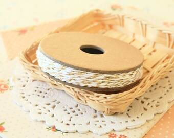 GOLD METALLIC Divine Twine 20yd Reel 4-ply cotton bakers twine string