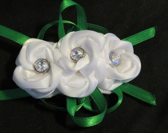 Three Flowers - Hair Clip